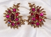 EMMONS - CRIMSON GLORY Earrings