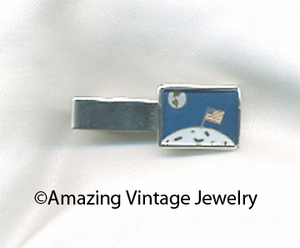 EXPLORER Tie Bar - Moon Landing