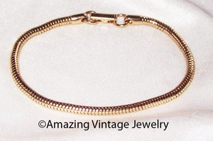 FASHION ROPE Bracelet - Goldtone