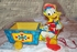 FISHER PRICE Donald Duck Cart 1954