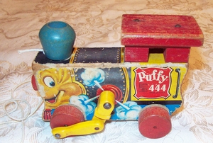 FISHER PRICE Puffy Engine 1951