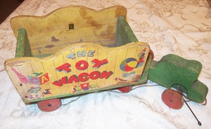 FISHER PRICE The Toy Wagon