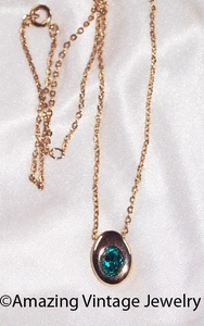 FOREVER YOURS Necklace - December - Blue Zircon