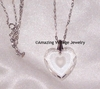 GENUINE CRYSTAL HEART Necklace