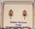GOLDEN BUTTONS Earrings - Sarah-Teen