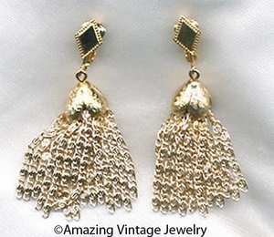 GOLDEN CASCADE Earrings