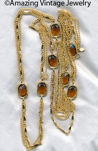 GOLDEN EMBERS Necklace