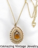 GOLDEN TEARDROP Necklace