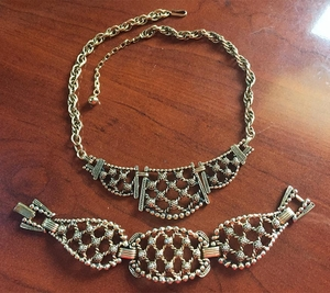 HOLD FOR AS - Antique Lace Set