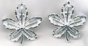 IVY Earrings - Silvertone