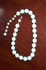 Large White Beads Necklace