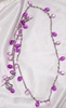 LILAC TIME Necklace - Long strand only