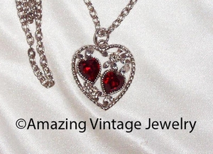 LOVE STORY Necklace - January - Garnet