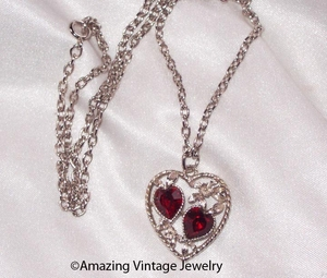 LOVE STORY Necklace - July Ruby