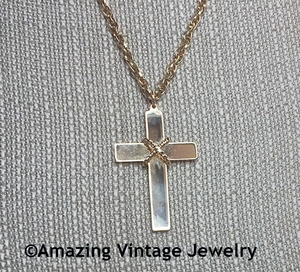 MARRIAGE CROSS Necklace