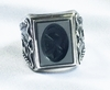 Men's Intaglio Ring - Seahorses, Mermaids, Centurion