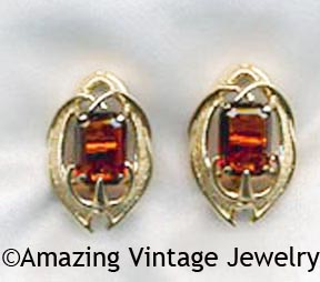 MOLTEN TOPAZ Earrings