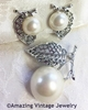 NATURE'S PEARL Pin & Earrings Set