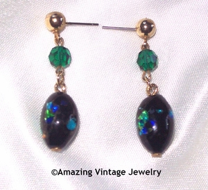 NIGHT GARDEN Earrings - Pierced