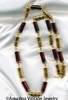 ORIENTAL LANTERNS Necklace - Brown