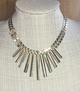 PARK LANE Egyptian Style Goldtone Necklace