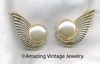 PEARL FLIGHT Earrings - Large