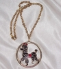 Poodle Pendant Necklace