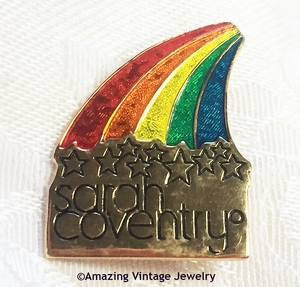 Rainbow Award Pin