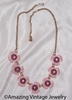 RASPBERRY ICE Necklace