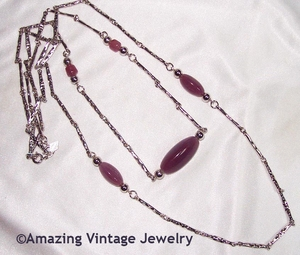 RASPBERRY ICE Necklace Set