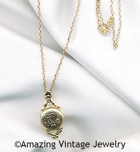 REMEMBRANCE LOCKET Necklace