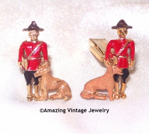 ROYAL MOUNTIE Cuff Links