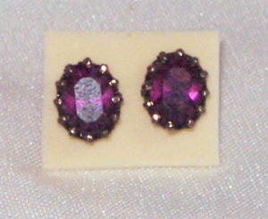 ROYAL PURPLE Earrings
