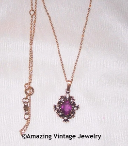 ROYAL PURPLE Necklace