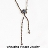 SARA LARIAT Necklace