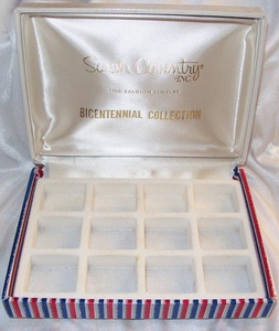SARAH COVENTRY Bicentennial Trinket Box