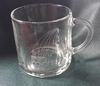 Sarah Coventry Glass Mug