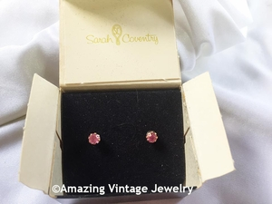 SARAH'S BIRTHSTONE EARRINGS - October