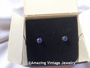 SARAH'S BIRTHSTONE EARRINGS - September