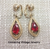 SCARLET TEARS Earrings