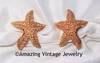 SEA STAR Earrings - Clip