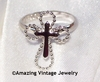 SERENITY CROSS Ring