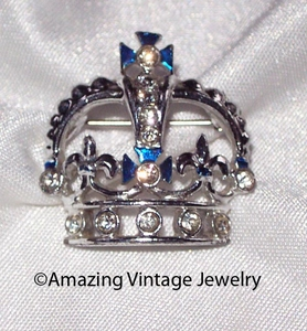 BLUE CROWN Award Pin