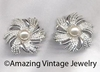 SILVERY SUNBURST Earrings