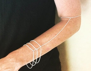 Sterling Silver Arm Chains