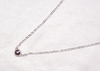 Sterling Silver Shiny Ball Necklace