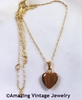 TIGER-EYE HEART Necklace