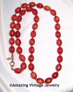 TORTOISE FASHIONS Necklace - Brown Strand only