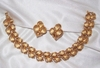 TRIFARI Brushed Goldtone Bracelet & Earrings