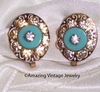 TURQUOISE IN CRYSTAL Earrings